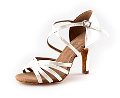 Dance shoes Kamila LAT white (85 mm)