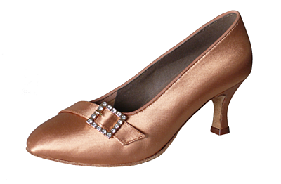 Dance shoes Marcela ST tan (65 mm)