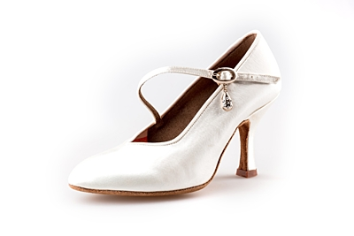 Dance shoes Nela ST white (85 mm)