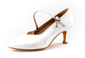 Dance shoes Nela ST white (65 mm)