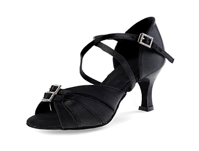 Dance shoes Wanda LAT black (65 mm)